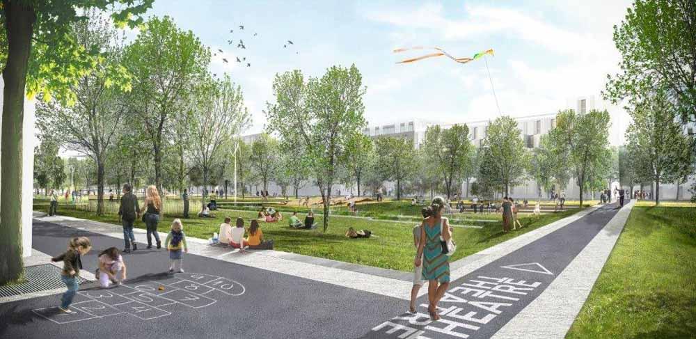 Carri res centralit for Espace vert paris